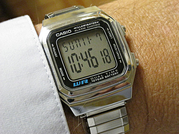 michael covington s daily notebook rh covingtoninnovations com Casio Watches Gold Digital Watch