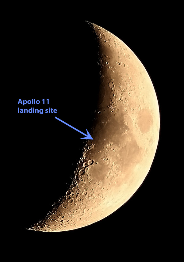 apollo 11 landing site earth - photo #20